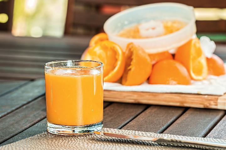 Drink orange juice - Goodbye Cold In 24 Hours